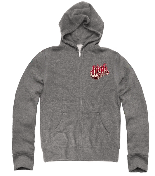 Men's High on Octane® Lone Wolf© Zip Up Hoody