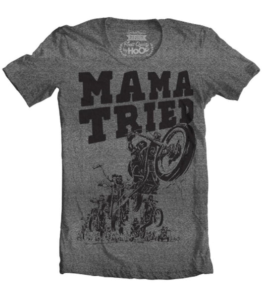 Men's High on Octane® Mama Tried - Hell on Wheels© T-Shirt (Color Options)