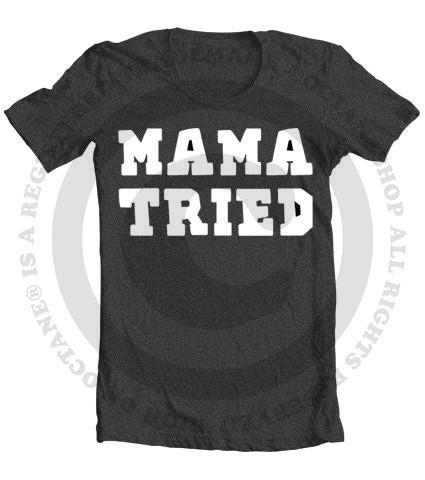 Kid's Mama Tried Vintage Heather T-Shirt