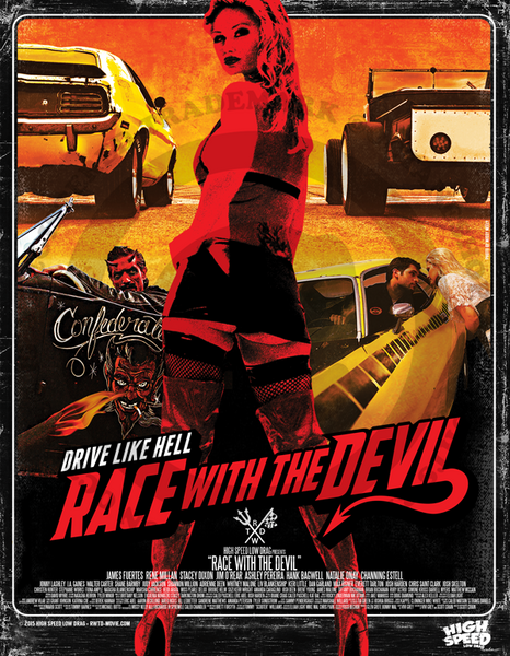 Race With The Devil Comic Promo