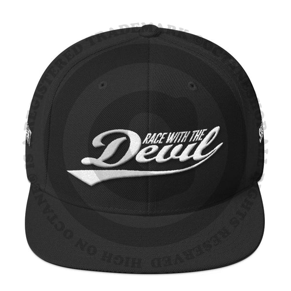 Race With The Devil Wool Blend Snapback Hat