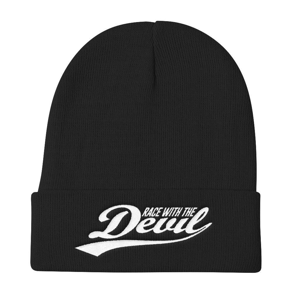 Race With The Devil Knit Beanie Hat