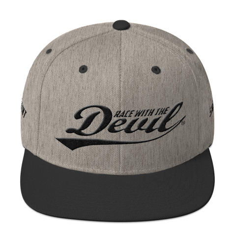 Race With The Devil® Snapback Hat