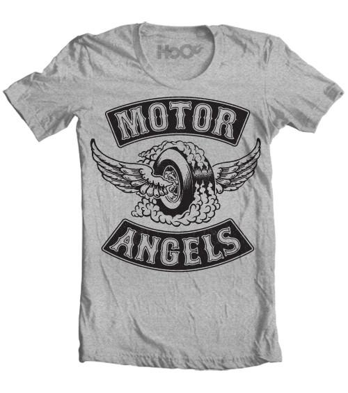 Women's HoO High on Octane Motor Angels Graphic T-Shirt (Color Options)