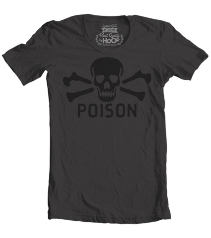 Women's HoO High on Octane Vintage Poison T-Shirt (Black)