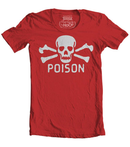 Women's HoO High on Octane Vintage Poison T-Shirt (Color Options)