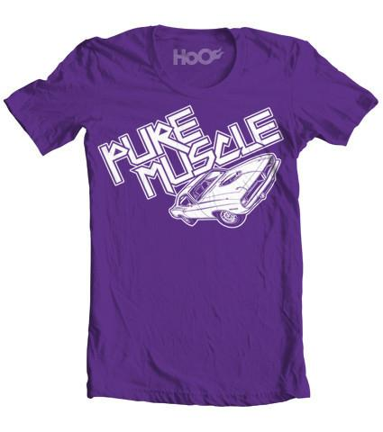 Women's HoO High on Octane Pure Muscle  Muscle Car T-Shirt