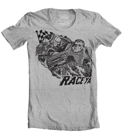 Men's HoO High on Octane Race Ya Monster Van Graphic T-Shirt (Color Options)