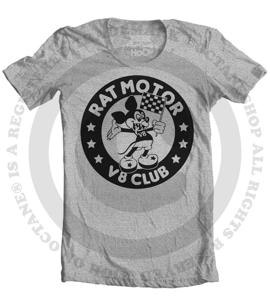 Women's HoO High on Octane Rat Motor V8 Club T-Shirt