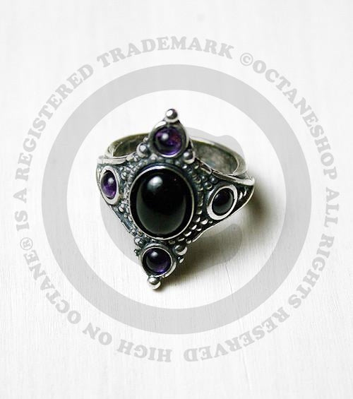Alchemy Immortal Kist Gothic Coffin Ring