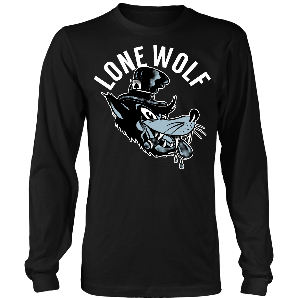 Unisex High on Octane® Lone Wolf Long Sleeve Shirt