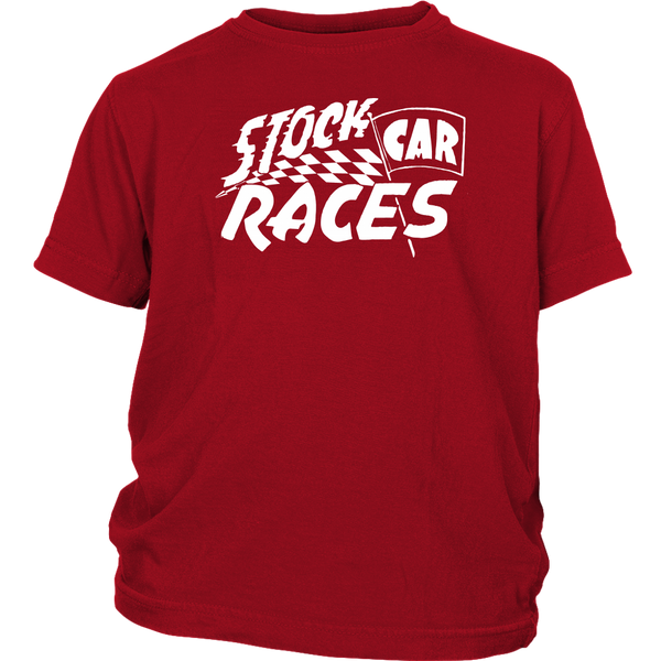 Youth High on Octane® Stock Car Races T-Shirt