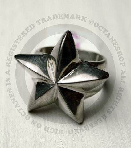 Classic Hardware Silver Star Ring