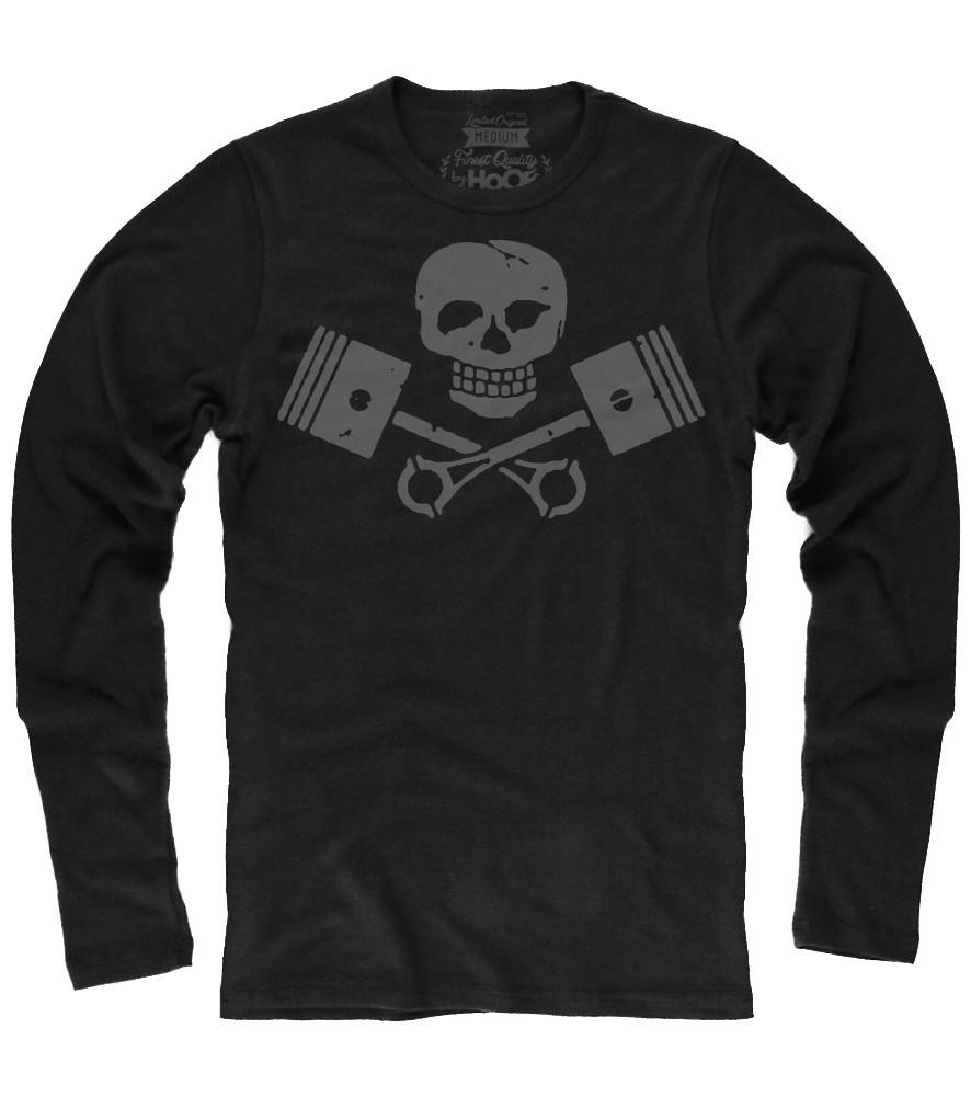 Men's HoO Vintage Skull and Pistons Thermal