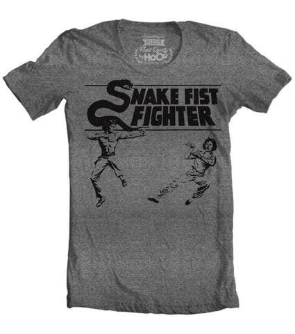 Men's HoO High on Octane Snake Fist Fighter Kung Fu Workout T-Shirt (Color Options)
