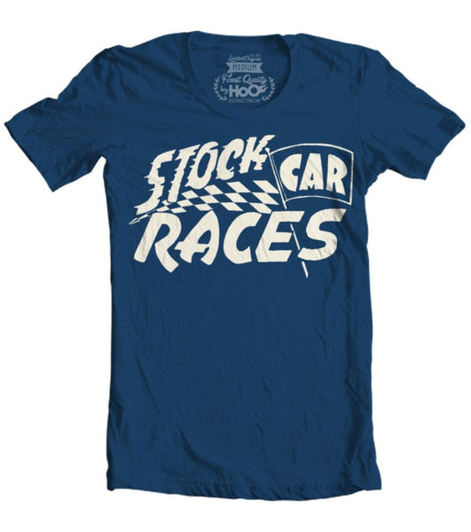 Men's HoO High on Octane Stock Car Racing T-Shirt (Color Options)