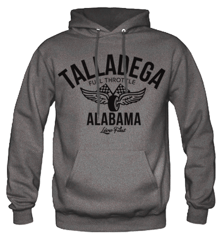 Men's High on Octane® Talladega Vintage Racing© Pull Over Hoody