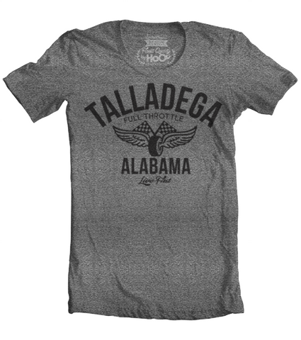 Men's HoO High on Octane Talladega Vintage Racing T-Shirt (Color Options)