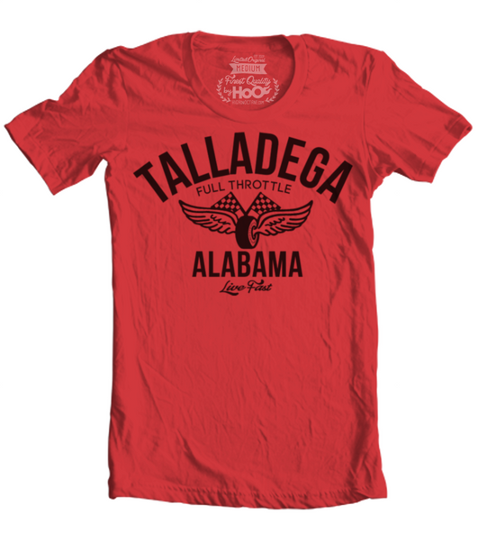 Unisex HoO High on Octane Talladega Vintage Racing T-Shirt (Color Options)