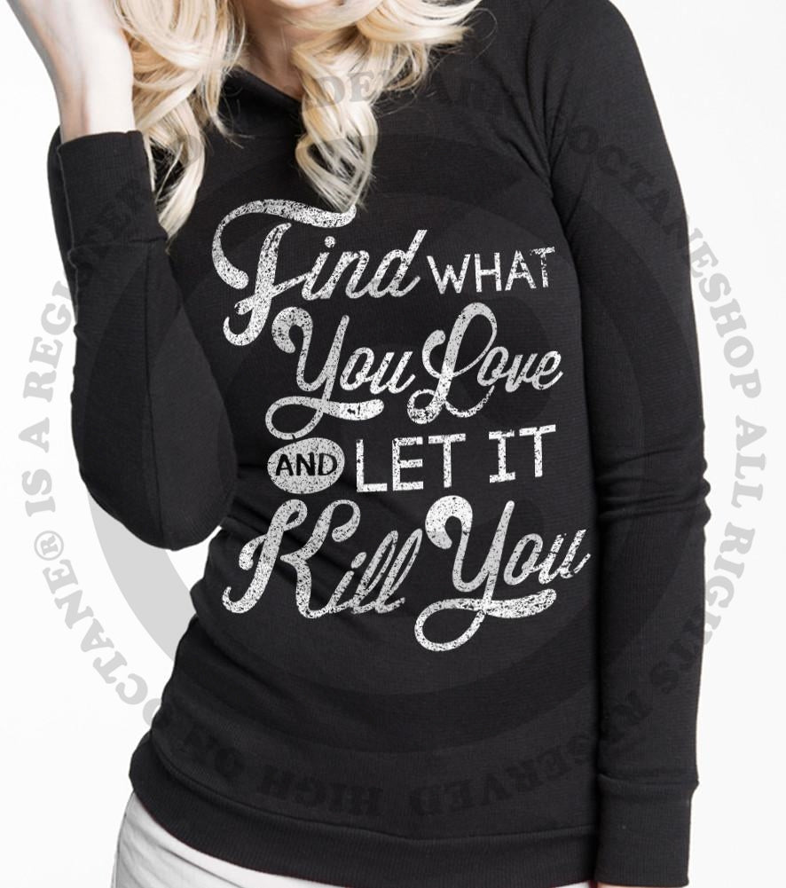 Women's HoO High on Octane Find What You Love Thermal Pullover Hoody