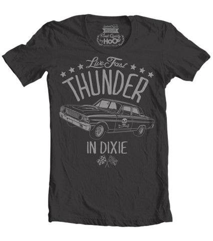 Men's HoO High on Octane Thunder in Dixie Muscle Car T-Shirt