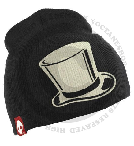 Top Hat SKVLL Beanie Black Hat