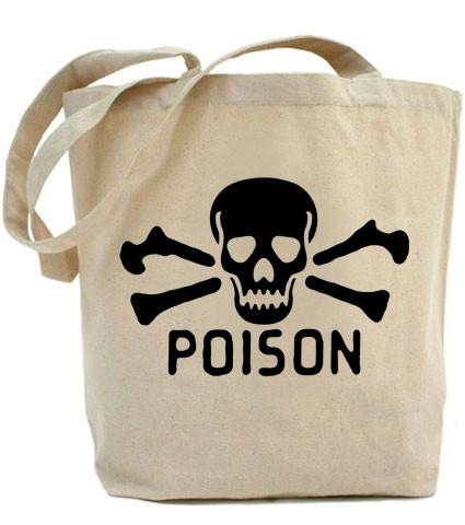 HoO High on Octane Poison Tote Bag