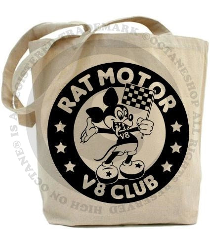 High on Octane® Rat Motor Club Tote Bag