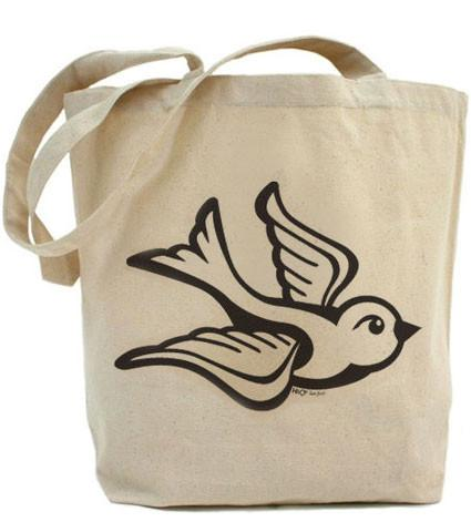 HoO High on Octane True Love Bird Tote Bag