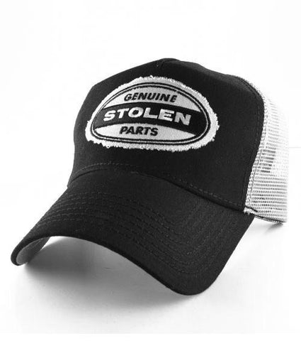 HoO High on Octane's  Genuine Stolen Parts Patch Trucker Hat