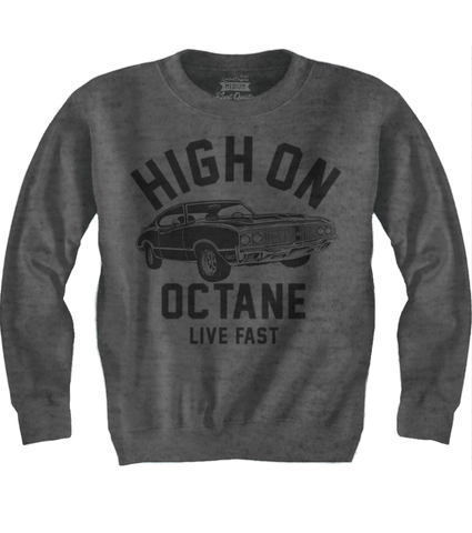 Men's HoO High on Octane Old School Olds 442 Muscle Car Sweatshirt