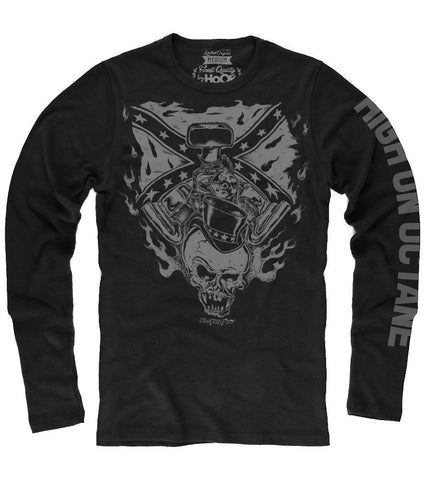 Men's HoO Rebel Skull Racing Thermal