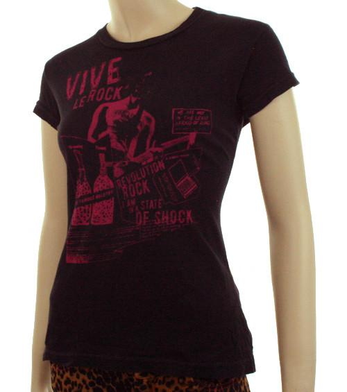 Women's Kill City Vive Le Rock T-Shirt