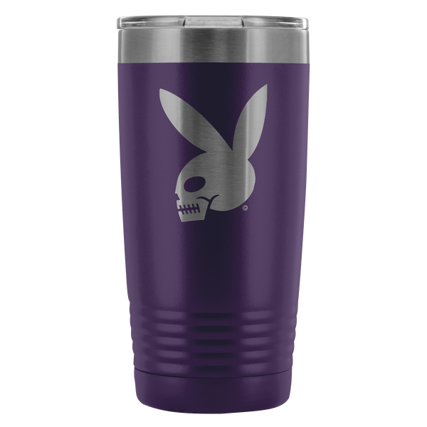 High on Octane® Skull Bunny 20 Ounce Vacuum Tumbler
