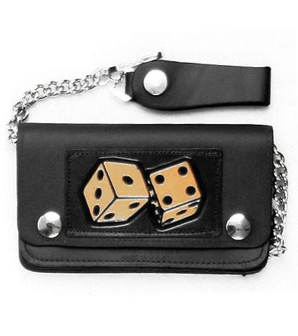 Leather Dice Wallet