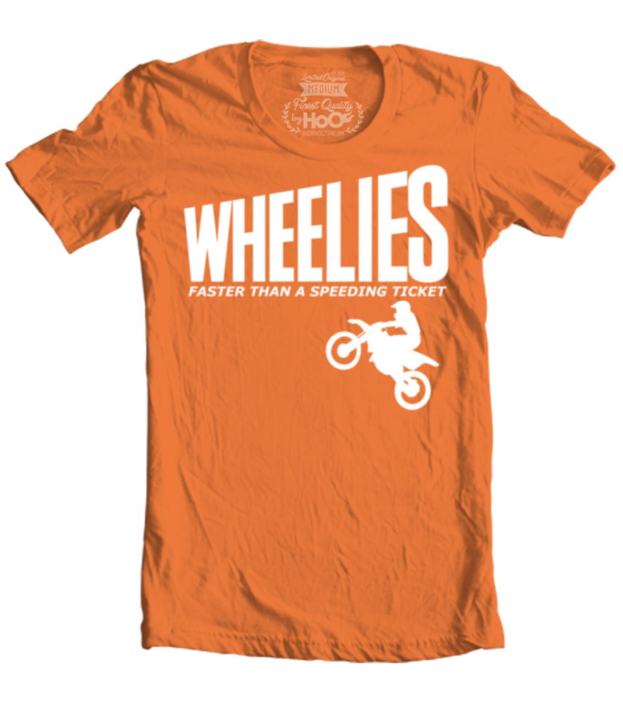 Men's HoO High on Octane Wheelies Graphic T-Shirt