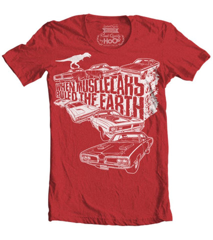 Kid's When Mopar Muscle Cars Ruled The Earth Vintage Heather T-Shirt (Color Options)