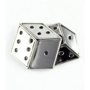 Silver Star Dice Buckle
