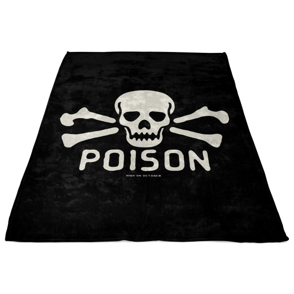 High on Octane® Poison Fleece Blanket