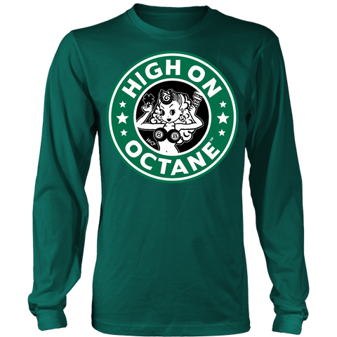 Unisex High on Octane® Greasy Luck Long Sleeve Shirt