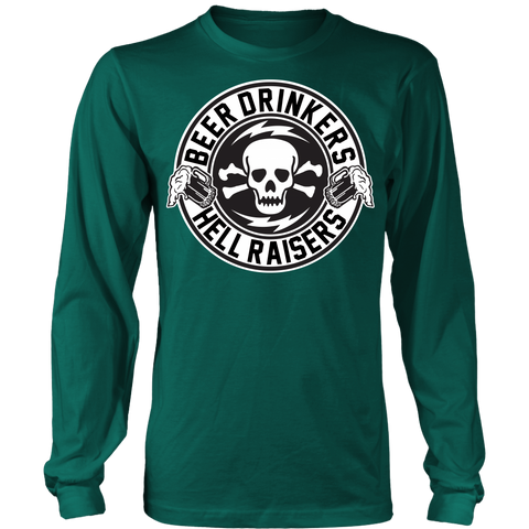 Unisex High on Octane® Beer Drinkers Long Sleeve Shirt