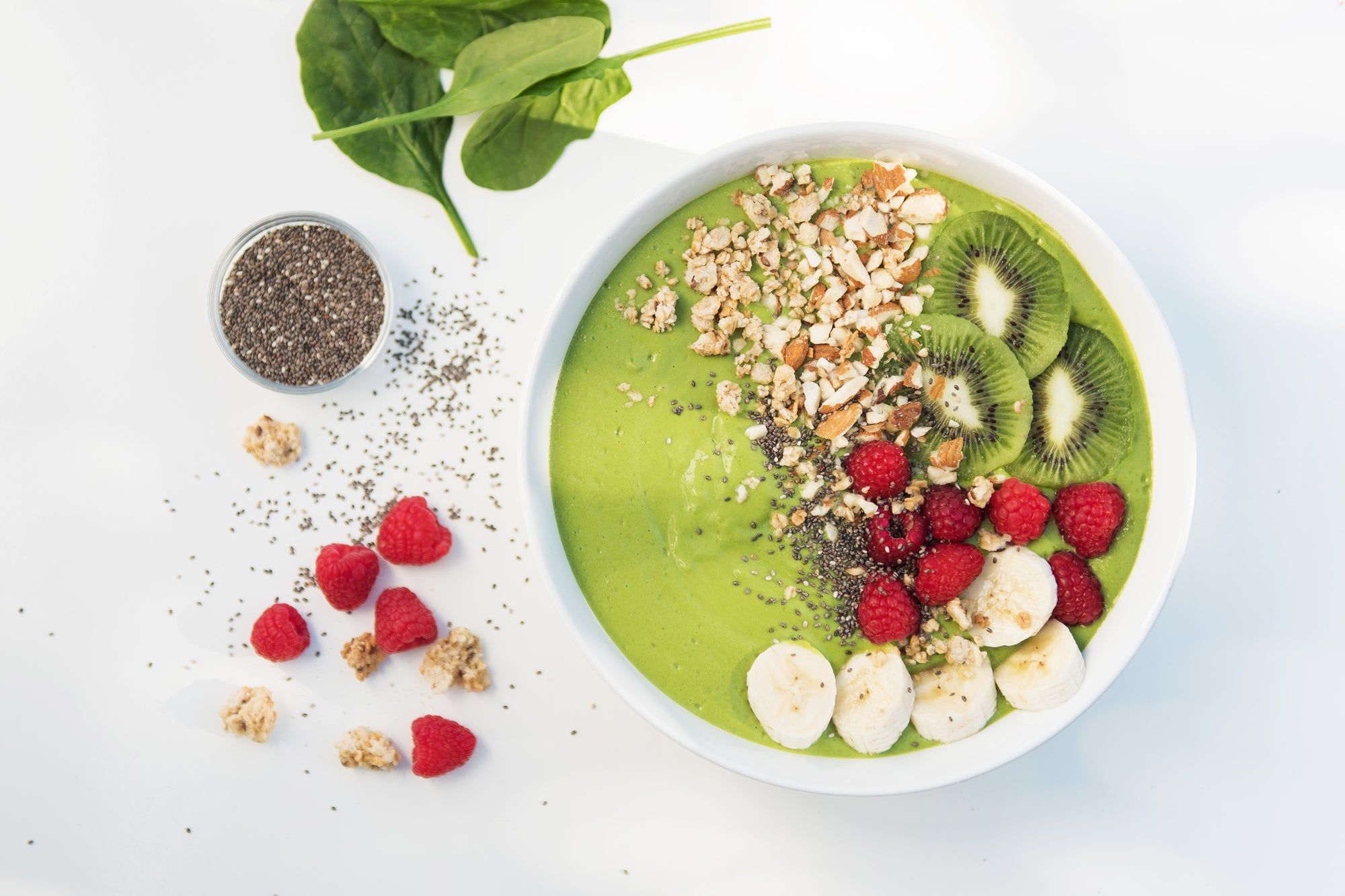 Mother Earth's Green Smoothie Bowl