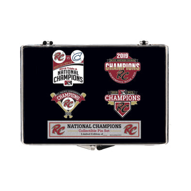 PIN CHAMP 4 SET, SACRAMENTO RIVER CATS