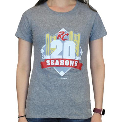 20TH SEASON LADY TEE, SACRAMENTO RIVER CATS