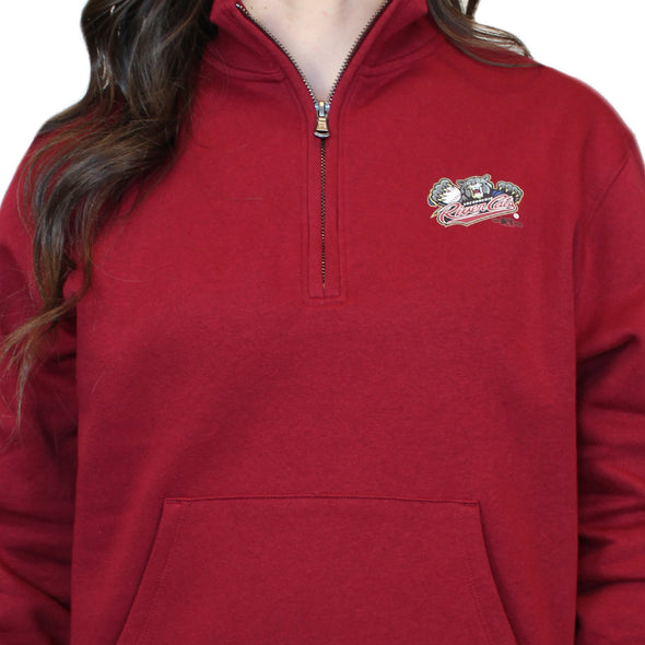 ALL DAY 1/4 ZIP LADIES, SACRAMENTO RIVER CATS