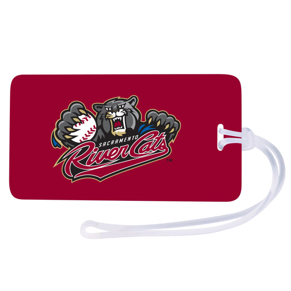 BAG TAG, SACRAMENTO RIVER CATS