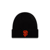 BEANIE SF BLACK RIBBED, SACRAMENTO RIVER CATS
