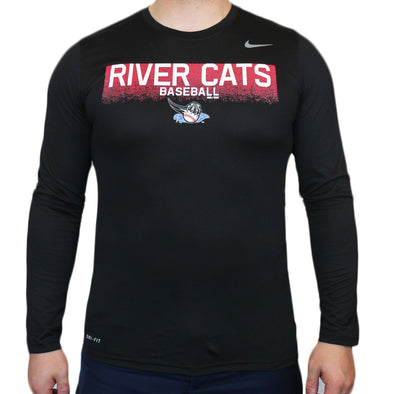 BLAKE LONG SLEEVE NIKE T, SACRAMENTO RIVER CATS