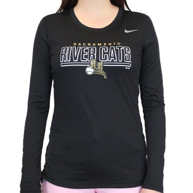 BRIDGE LONG SLEEVE LADIES, SACRAMENTO RIVER CATS