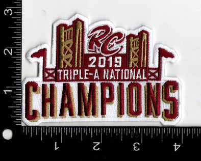 CHAMPIONS PATCH 2019, SACRAMENTO RIVER CATS